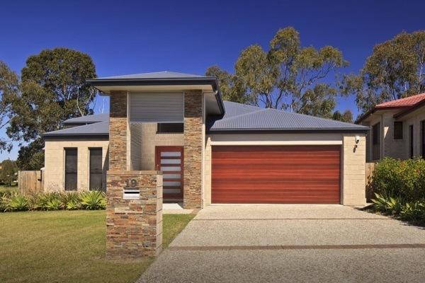Bu0026D Timber Coat® Panelift Garage ... & Easylift Garage Doors Sydney | Automatic Roller Doors | Door Openers ...